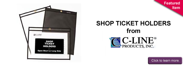 Shop Ticket Holders