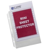 C-Line Products Heavyweight Mini Polypropylene Sheet Protectors