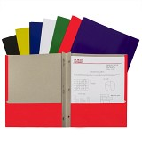 C-Line Products Recycled Two-Pocket Paper Portfolios with Prongs