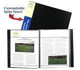 C-Line Products Bound Sheet Protector Presentation Book