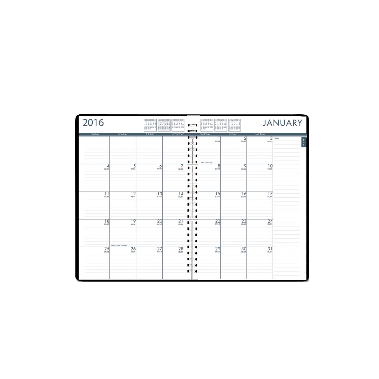 House of Doolittle Daily/Monthly 24/7 Planner