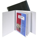 C-Line Products 8-Pocket Portfolio with Security Flap