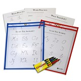 C-Line Products Dry Erase Pocket Study Aid Kit