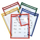 C-Line Products Super Heavyweight Plus Dry Erase Pockets