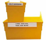 C-Line Products HOL-DEX� Permanent Peel & Stick Shelf/Bin Label