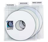 C-Line Products Individual CD/DVD Holders with Index Tabs