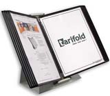 Tarifold Desktop Organizer - Black Pockets