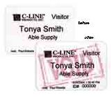 C-Line Products Name Badges for Direct Thermal Printers