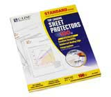 C-Line Products Standard Weight Polypropylene Sheet Protectors
