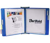 Tarifold Wall Unit Organizer - Blue Pockets
