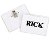 C-Line Products Clip/Pin Combo Style Name Badge Kit