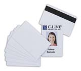 C-Line Products Graphic Quality Video Grade PVC Card
