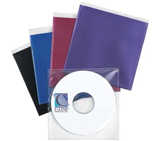 Individual CD/DVD Holders