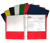 C-Line Products Recycled Two-Pocket Paper Portfolios