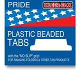 Kleer-fax Hanging File Folder Tabs Bulk Packed Tabs