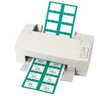 C-Line Products Laser Printer Name Badges and Name Badge Inserts