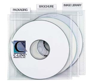 Individual Tabbed CD/DVD Holders