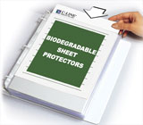 Biodegradable Sheet Protectors