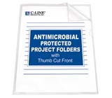 C-Line Products Project Folders with Antimicrobial Protection