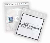 C-Line Products Deluxe Individual CD/DVD Holders