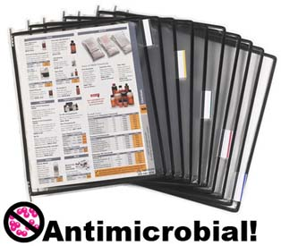 Tarifold Antimicrobial Pivoting Pocket Packs