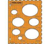 Fiskars ShapeTemplate - Ovals - 1 w/Cloud Border