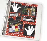 C-Line Products Memory Book - 8 1/2 x 11  Page Protectors