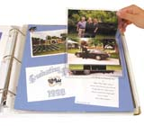 C-Line Products Memory Book Flip Pockets