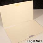 Kleer-fax Manila File Jackets - Single Ply Legal