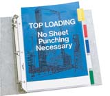 C-Line Products Sheet Protectors with Index Tabs Polypropylene