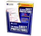 C-Line Products Sheet Protector Retail Display