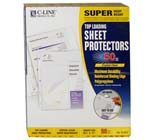 C-Line Products Super Heavyweight Polypropylene Sheet Protectors