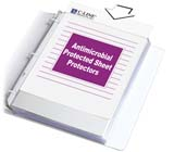 C-Line Products Heavyweight Sheet Protector with Antimicrobial Protection