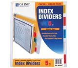 C-Line Products Paper Index Dividers