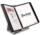 Tarifold Desktop Organizer - Brown Pockets