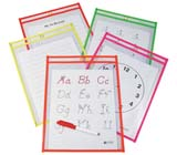 C-Line Products Reusable Dry Erase Pockets