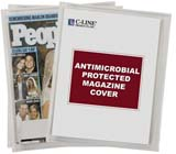 C-Line Products Magazine Cover with Antimicrobial Protection