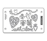 Fiskars Mini ShapeBoss Stencil Set - With Love