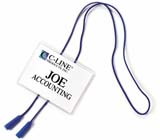 C-Line Products Hanging Style Name Badges - Executive Style