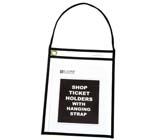 C-Line Products Stitched Shop Ticket Holder With Strap