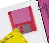 C-Line Products Self-Adhesive Diskette Holders