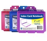 C-Line Products Spiral Bound Index Card Notebook
