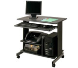 Buddy Products Euroflex Mini Tower Workstation, Fixed Height