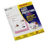 C-Line Products Heavyweight Polypropylene Sheet Protectors