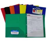 C-Line Products Two-Pocket Poly Portfolios with Prongs