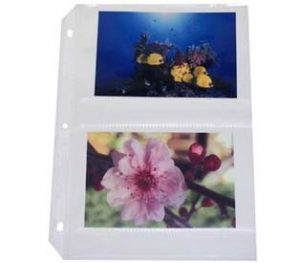 35 mm Storage Ring Binder Photo Storage Page