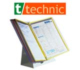 t-technic Original Tarifold Paperwork Organizer Systems with Metal Base