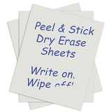 Self-Stick Dry Erase Sheets