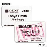 Time's Up!� Security Badges for Direct Thermal Printers