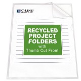 Recycled project folders